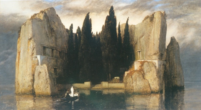 Arnold Bocklin's Isle of the Dead, 1883